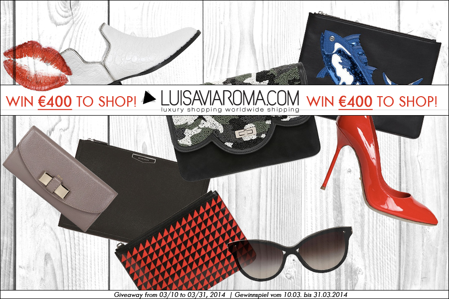 Win €400 to shop at Luisaviaroma!!!