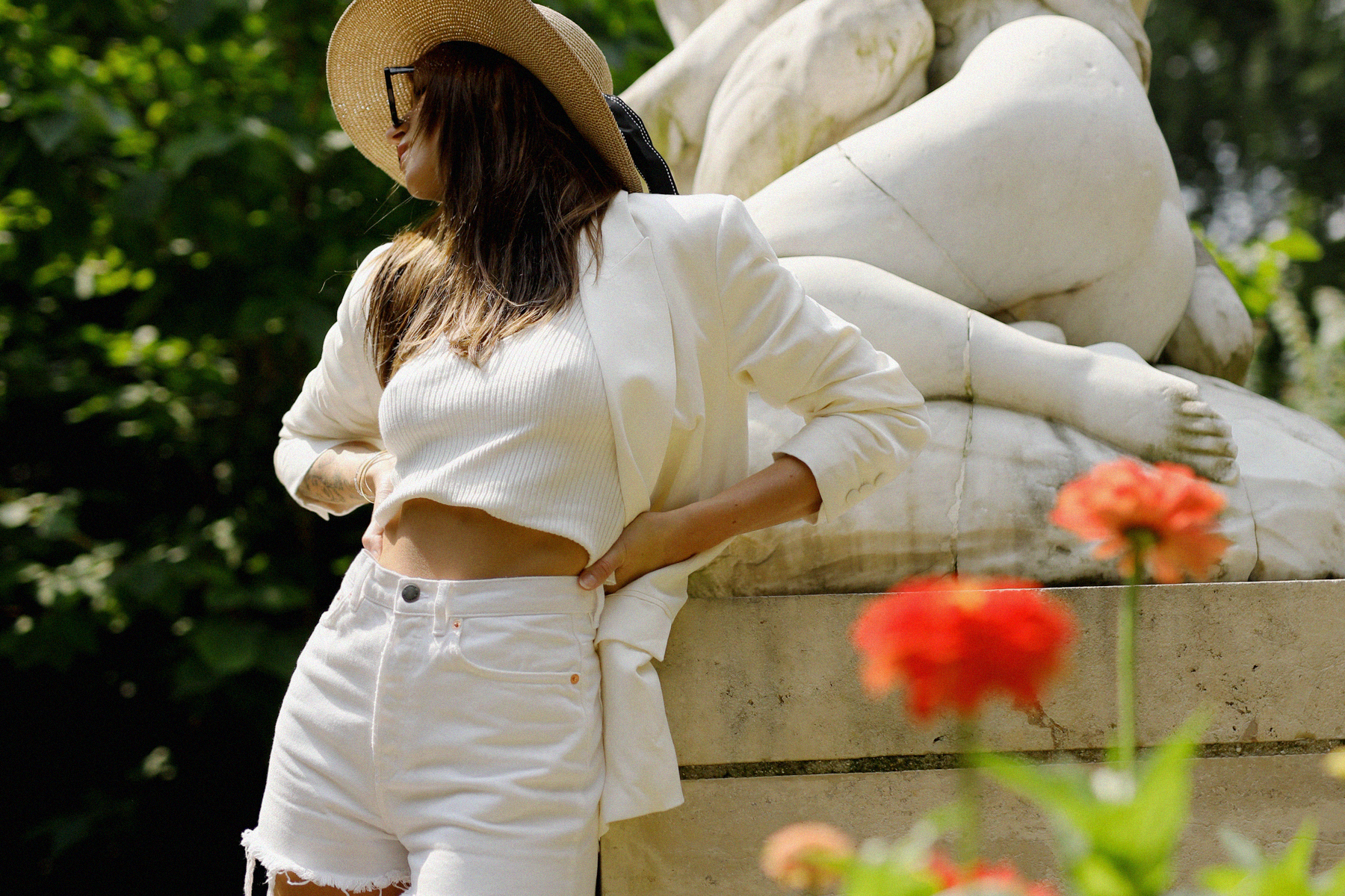 All White Everything in a look